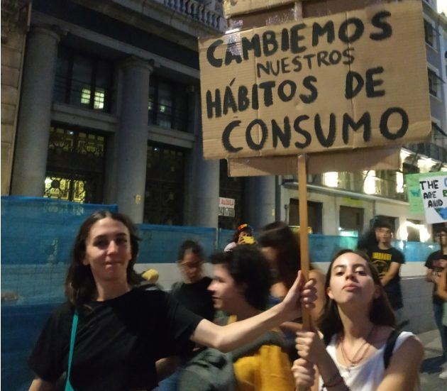Manifestación 27S en Madrid