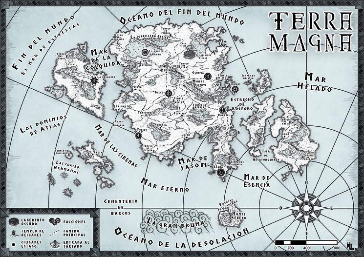 Mapa de Terra Magna