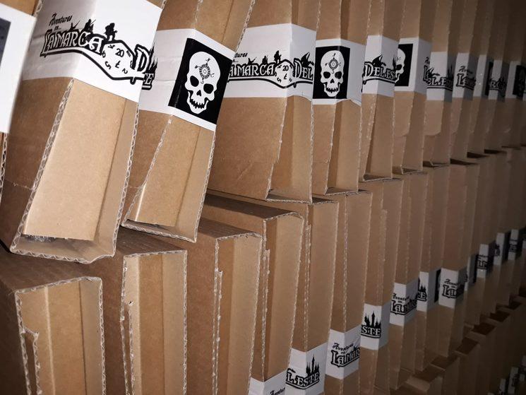 Los paquetes van llegando