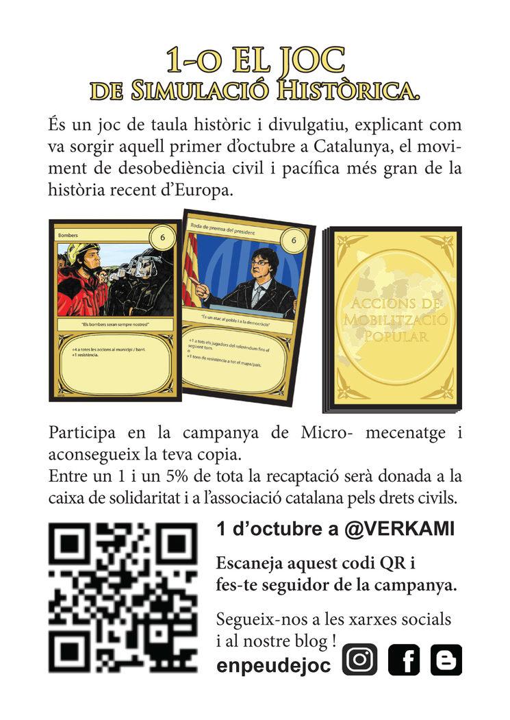 Flyer repartits durant la Diada Nacional de Catalunya