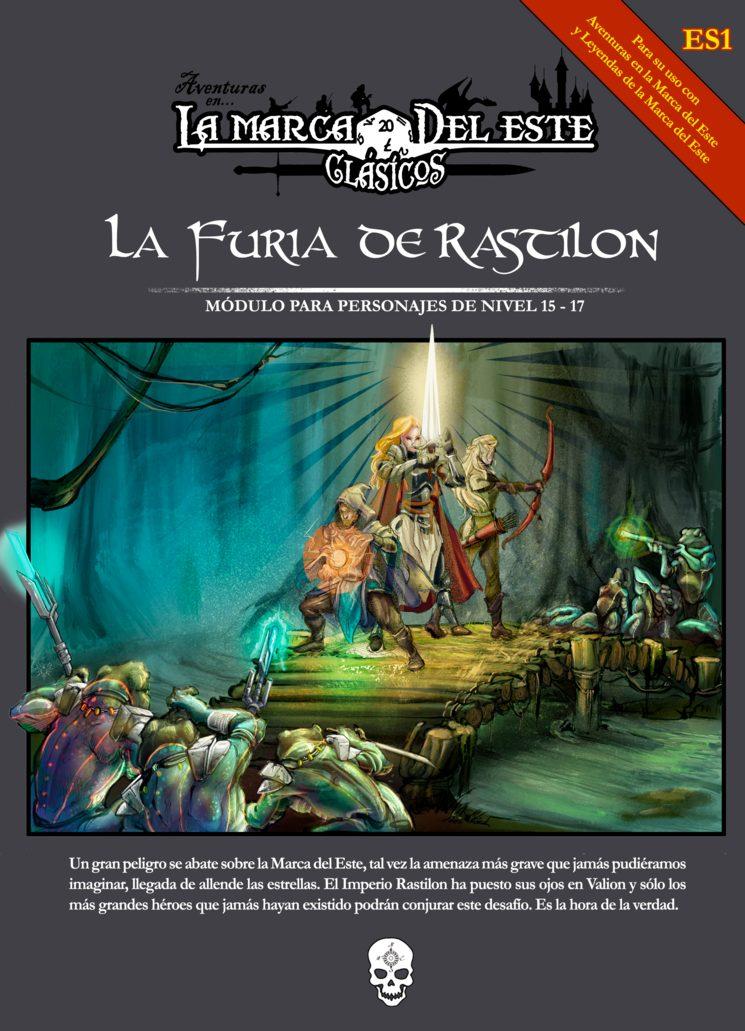 Portada de la Furia de Rastilon, ilustración de Laura Jiménez