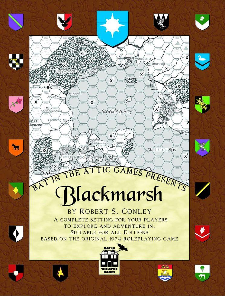 Portada original de la edición estadounidense de Blackmarsh