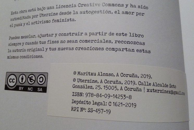 Datos editoriales del libro.