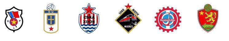 Los antiguos Sporting de Gijón (hoy CSKA de Xixón) y Real Oviedo (Hoy Dinamo de Uviéu) así como otros clubes, fueron también modificados con el nuevo régimen.