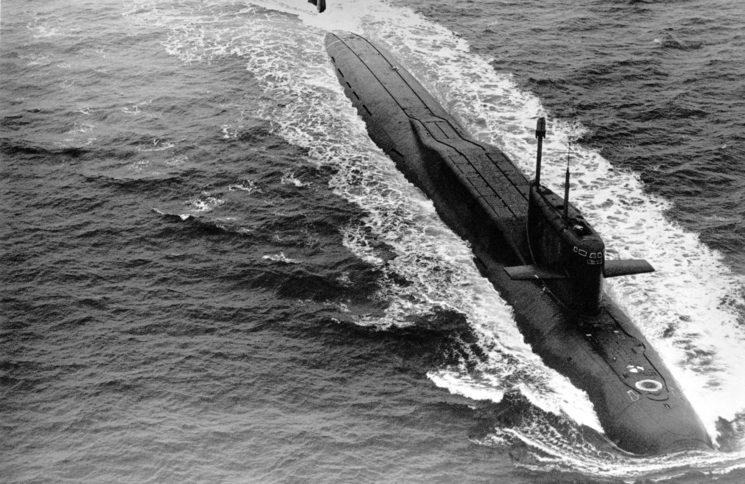 El submarino nuclear clase navaga