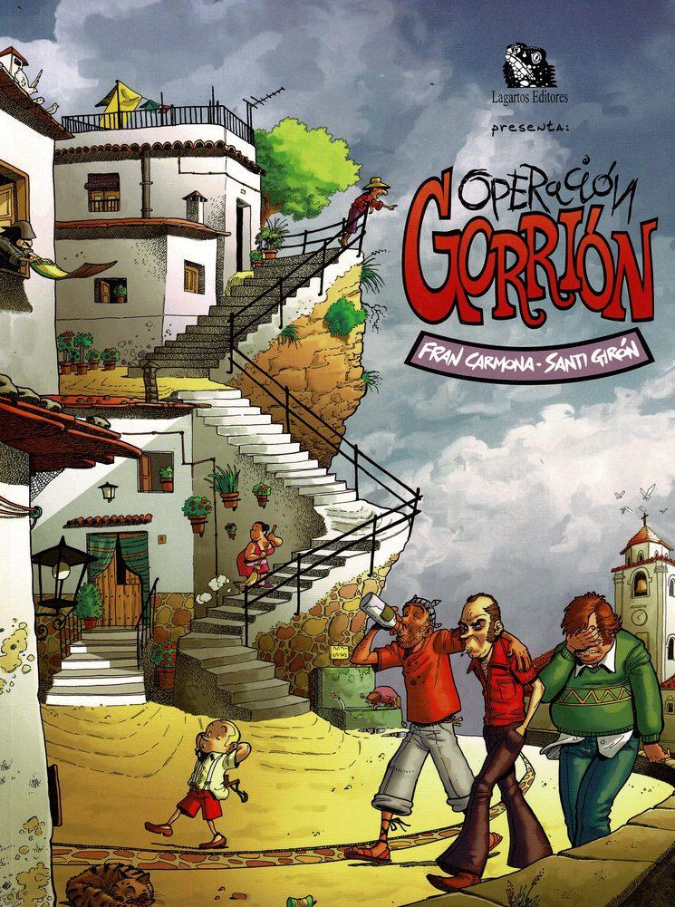Cómic de Santiago Girón y Fran Carmona.