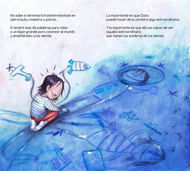 ¡Nuevo álbum ilustrado infantil!: Clara y las Sombras