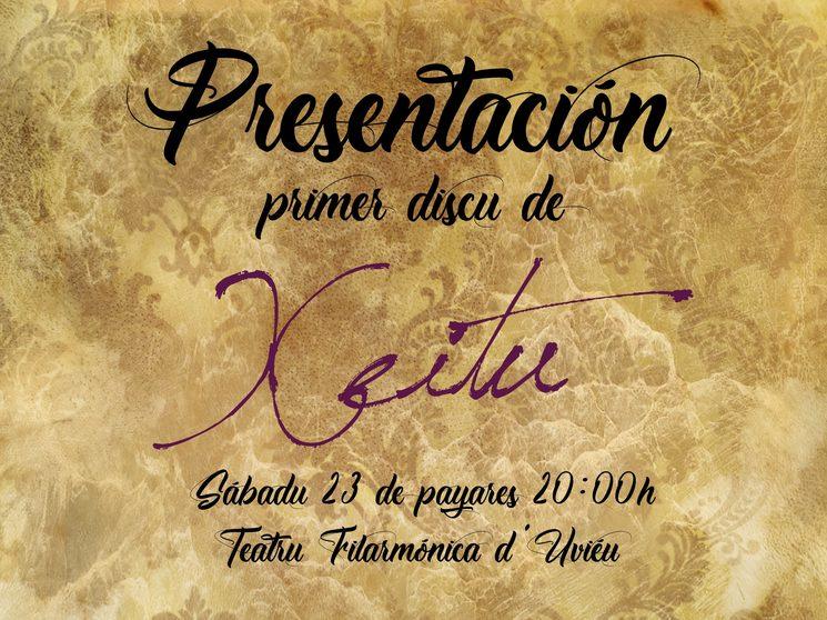 Presentación disco Xeitu y entrega de recompensas