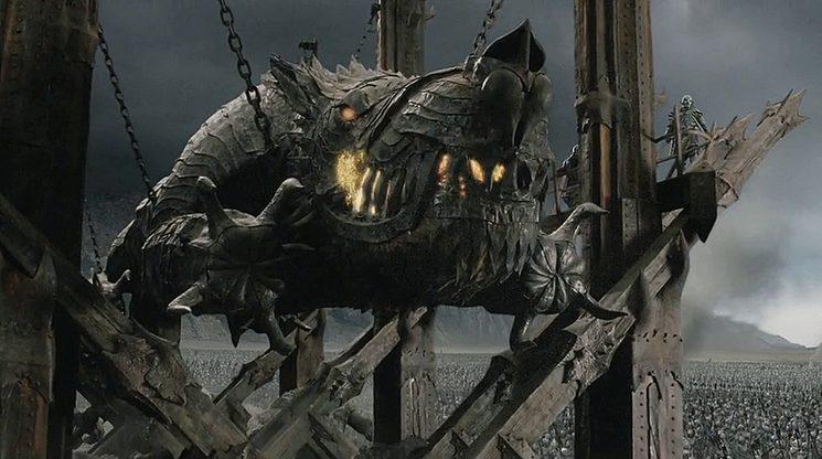 ¡Grond, el ariete de Sauron, se une a abrir las puertas a Siege Line!