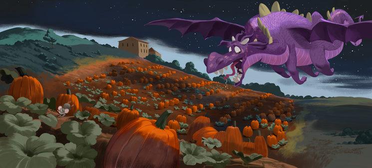 Bruna i el drac