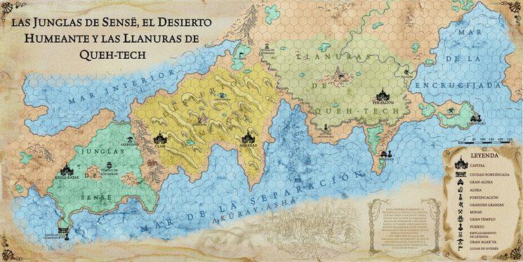 Mapa hexagonado Desierto+Junglas+Llanuras