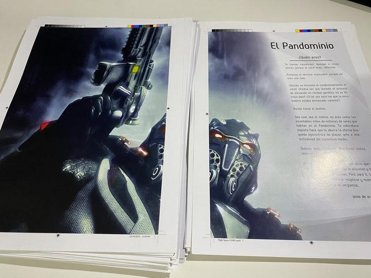 Primeras páginas del libro
