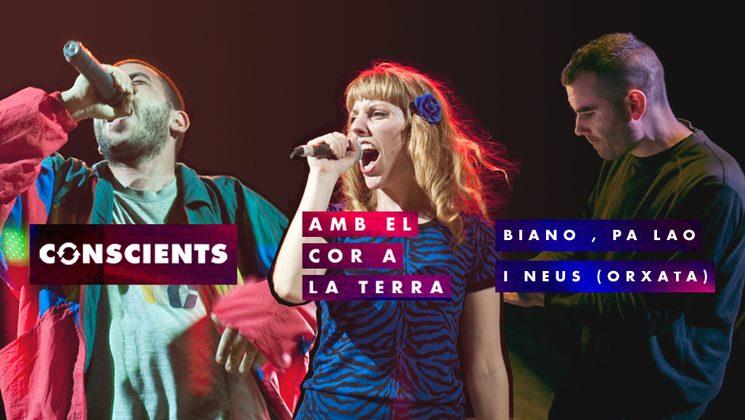 Entre totes fem la lletra i Biano, Neus i Pa Lao (Orxata) posen la veu i la música!