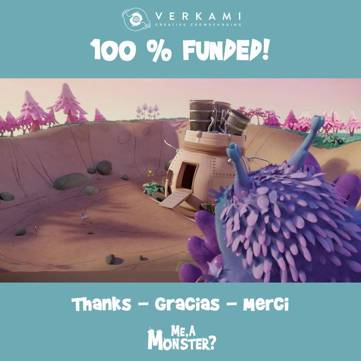 100% Campaign Goal Achieved! 🎉