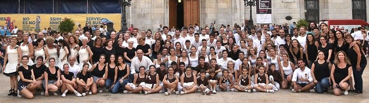 Foto de la gran família Tarragona Dansa. 16/9/2019