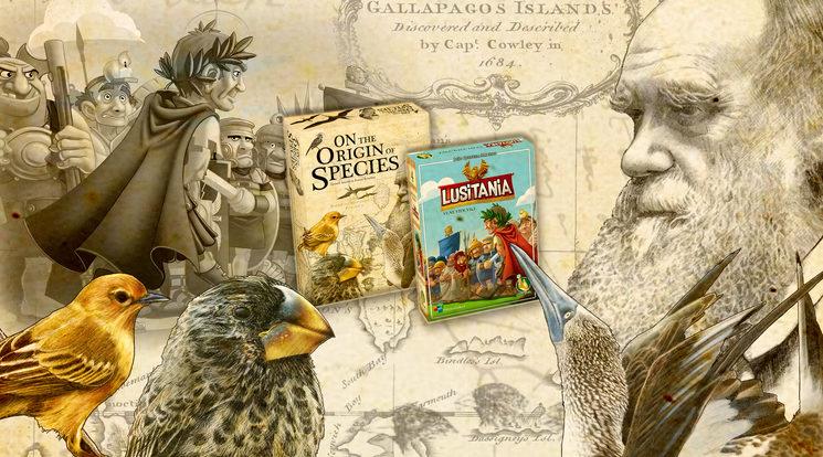 Los dos juegos están saliendo de las Galápagos para llegar a la provincia romana de Hispania