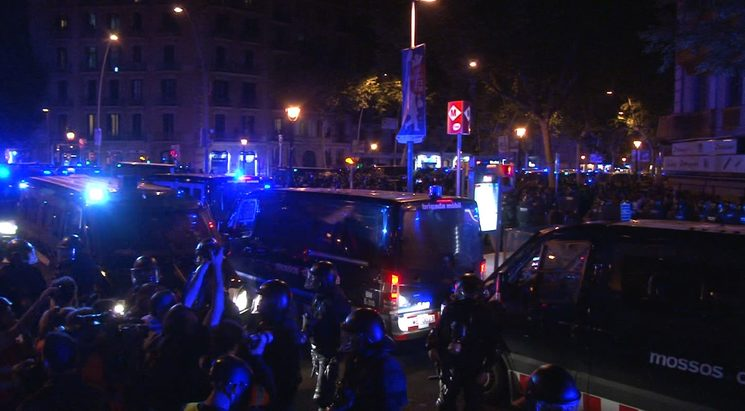 Al voltant de 4000 mossos d