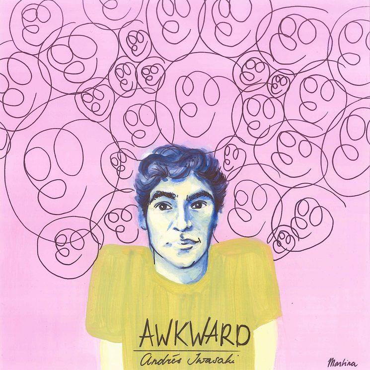 "Dibujo para mi single ""Awkward"" por Geertje Martina Coopmans (2016)"