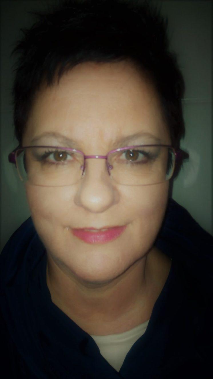 La autora María José Viz Blanco