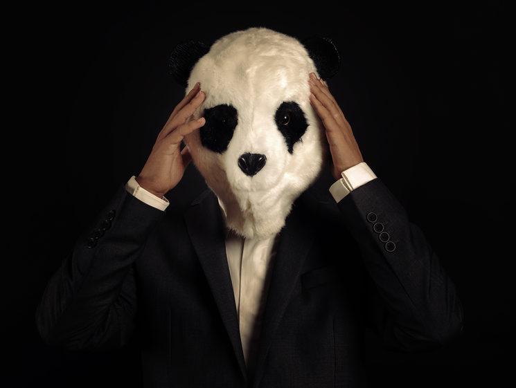 Máscara original de Panda