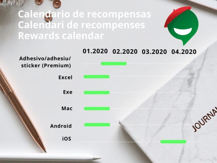 Planned calendar