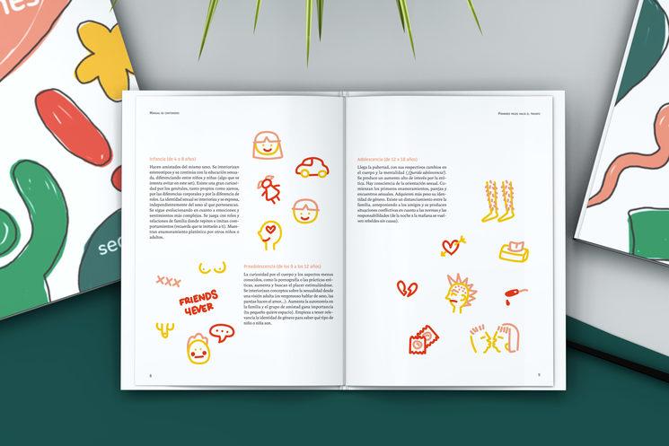 Manual de contenidos incluido en el kit SEDUCA