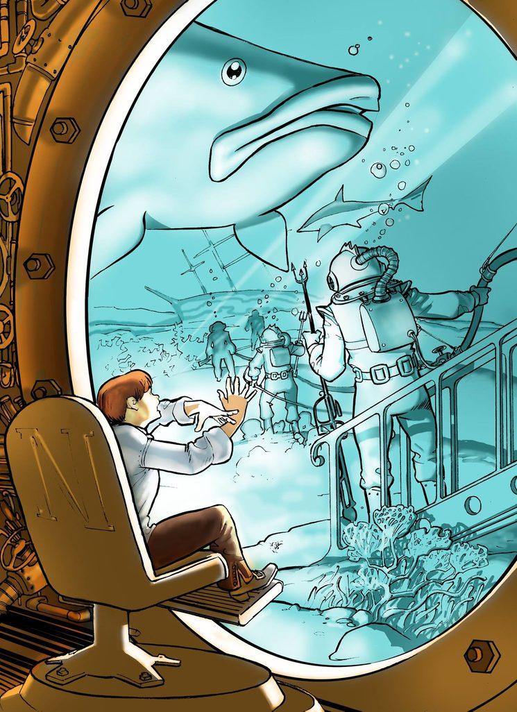 Las veinte primeras páginas de la novela El joven Verne