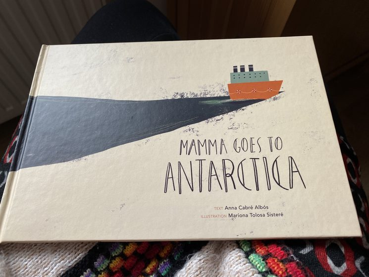 La mama se'n va a l'Antàrtida (ara si) / Mamma goes to Antarctica (now for real)