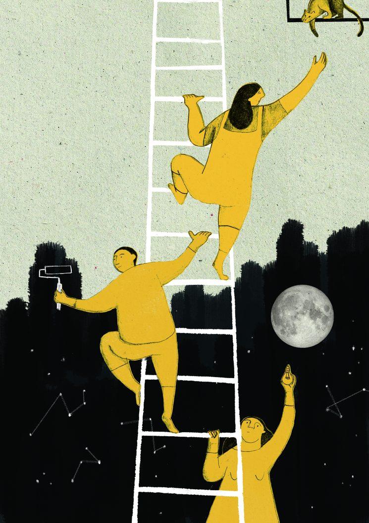 * Ilustración de Julia Gómez para la Agenda 2020