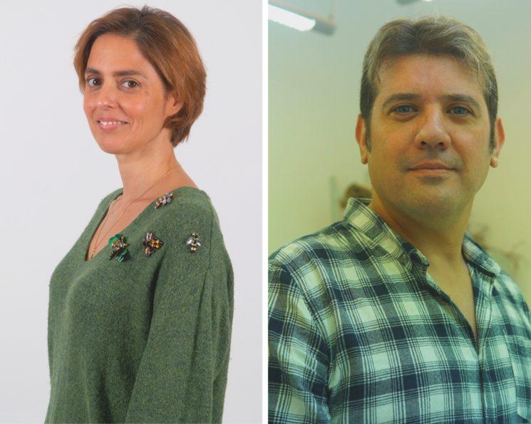 Rebeca (Isabel Quevedo) y Miguel (Francisco Javier Boniquito)