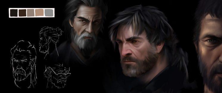 Boceto del pintor