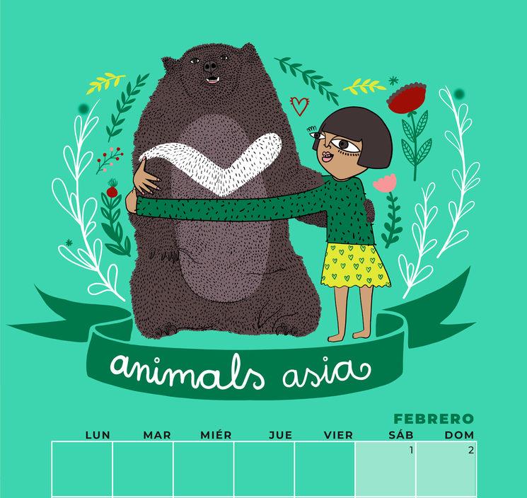 Prototipo calendario febrero 2020 #VivaLaVictoria3