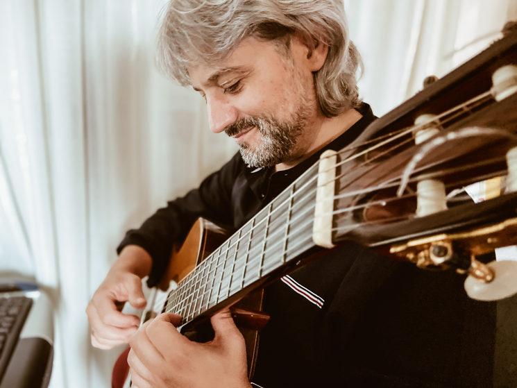 El compositor, Jesús Martínez Torres