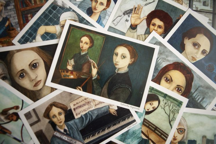 tarjetas A6 Mujeres 5
