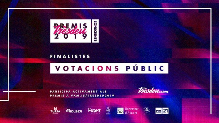 Qui són els finalistes dels Premis Tresdeu 2019?
