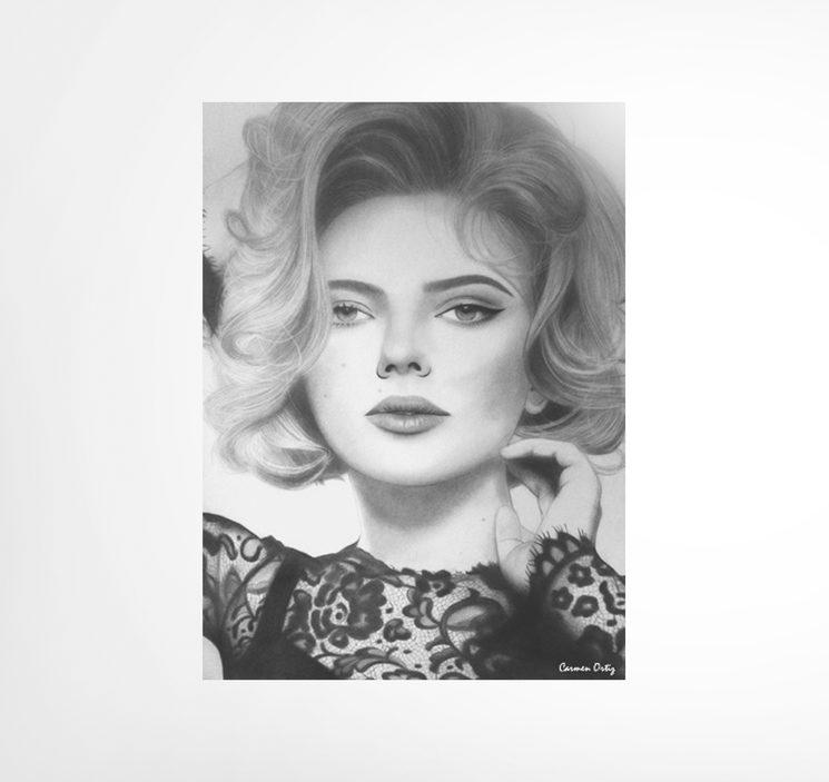 Scarlett Johansson por Carmen Ortiz
