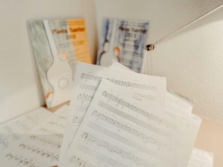 Manuscritos del compositor