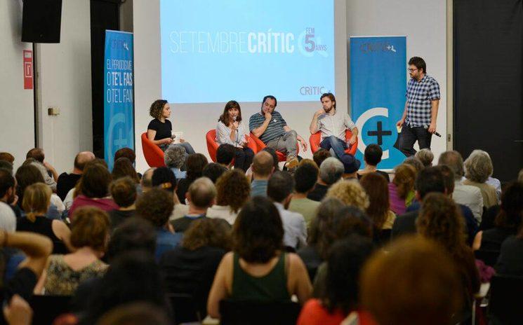 Acte de cinquè aniversari de Crític. Foto: Ivan Giménez