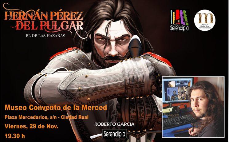 Presentación del cómic en Ciudad Real