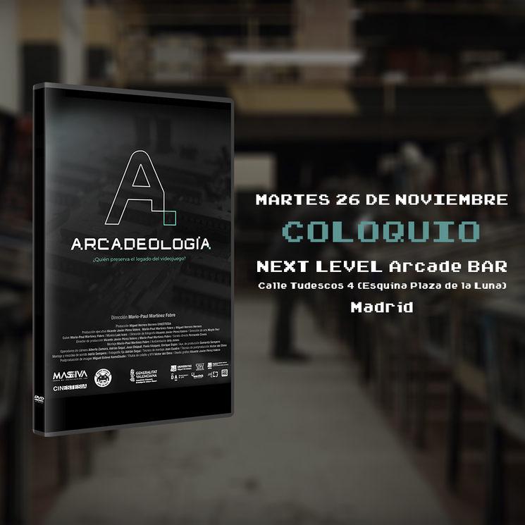 Coloquio sobre Arcadeología en Madrid