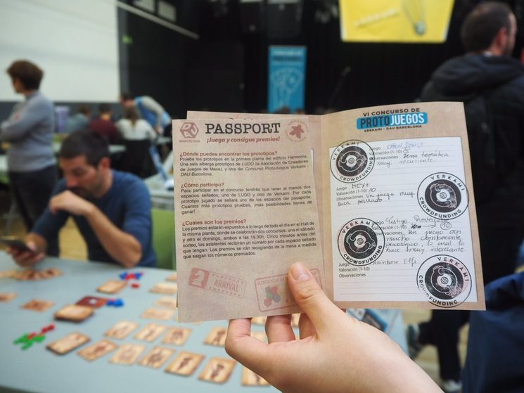Algunos visitantes completaron entero el Pasaporte Lúdico