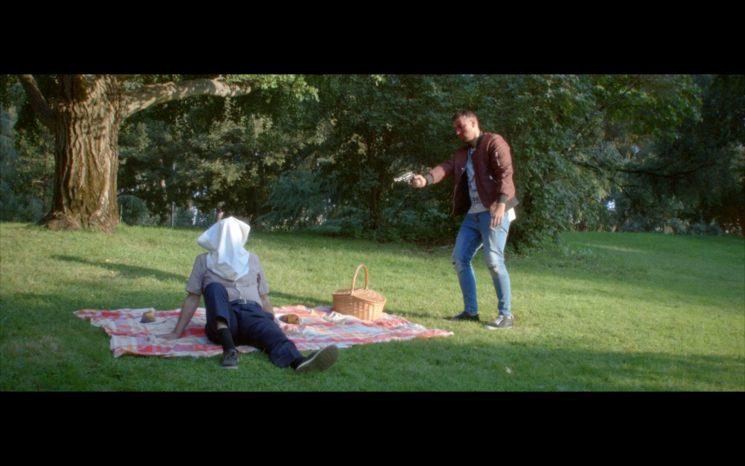 """Captura del mediometraje """"Muerte de un Personaje en Tres Actos"""""""