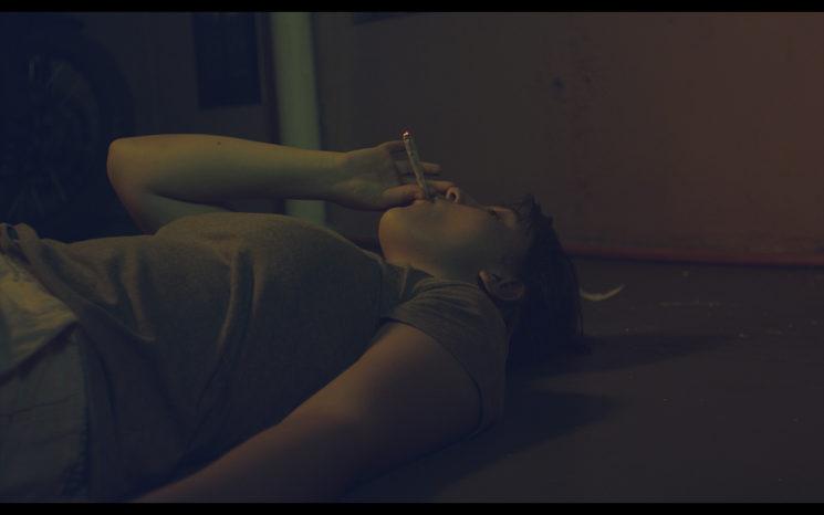 "Captura del cortometraje ""La Heroína de una Vida Pasada"""