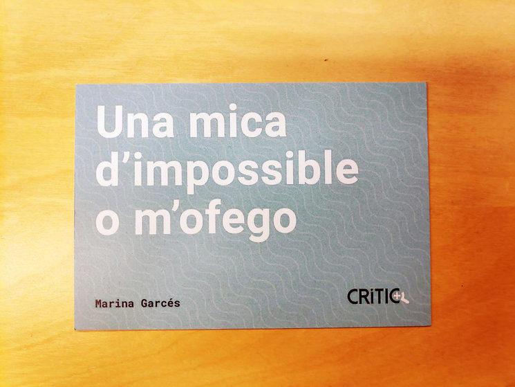 Carta als mecenes: petita història d'un impossible