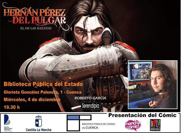Presentación del cómic en Biblioteca Pública del Estado en Cuenca
