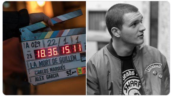 Inici del rodatge // Yani Collado interpreta a Guillem Agulló.