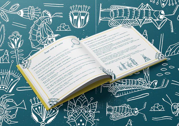 Exemple del material didàctic imprès al llibre