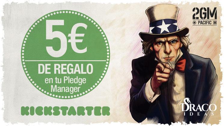 5€ de descuento en el Pledge Manager