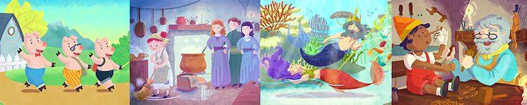 Todas las ilustraciones son originales ¿Conoces el verdadero final de la Sirenita? ¿Y que la obra original de Pinocho tenía más de 200 páginas?