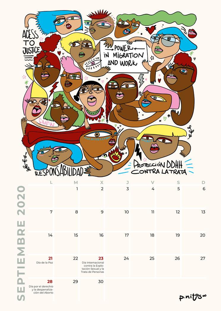 Ilustración septiembre 2020 sobre la